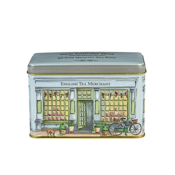 Tea Merchants Tea Tin 40 English Breakfast Teabags