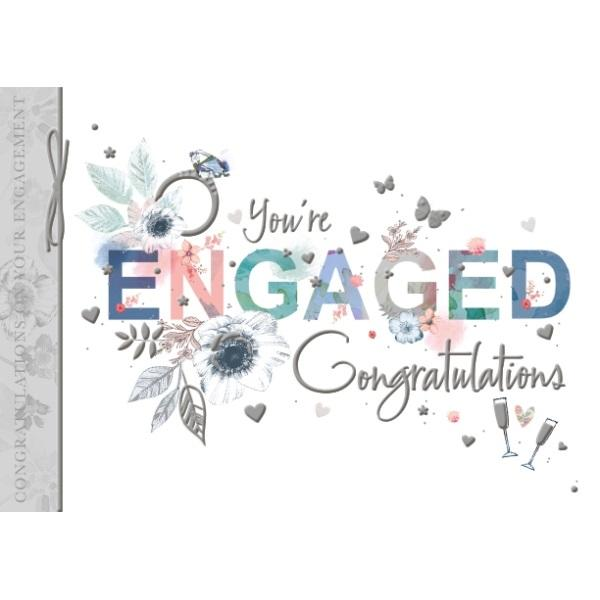You're Engaged! Congratulations Engagement Card