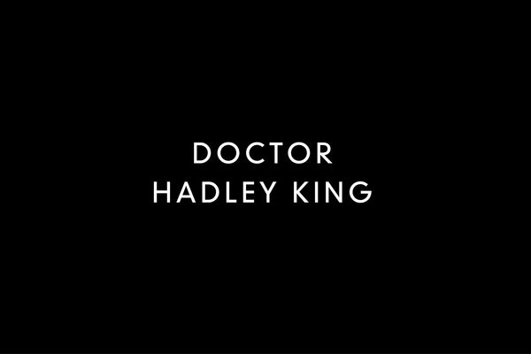 Message from Dr. Hadley King