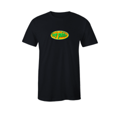 CIRCLE LOGO BLACK T-SHIRT