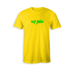Green Logo Yellow T-Shirt