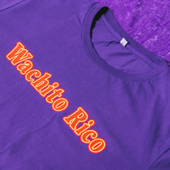 Wachito Rico Purple T-Shirt