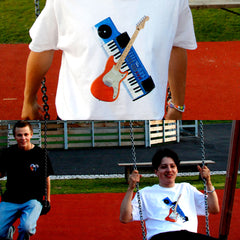 Instruments White T-Shirt