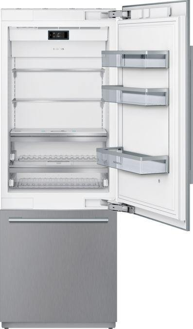 Siemens- iQ700 built-in fridge-freezer with freezer at bottom 212.5 x 75.6 cm CI30BP02 - Mahajan Electronics Online