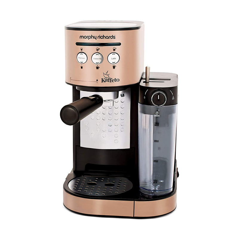 Morphy Richards Kaffeto 1350 W Milk Frother and Coffee Maker - Mahajan Electronics Online