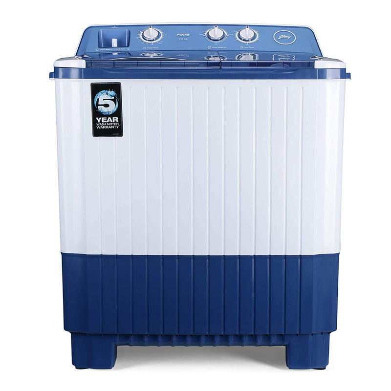 Godrej WSAXIS 70 5.0 SN2 T BL, Blue 7 Kg Semi-Automatic Top Loading Washing Machine