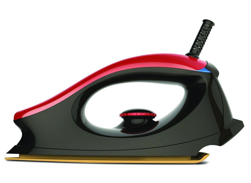 Bajaj Majesty One 1000-Watt Dry Iron (Red/Black) - Mahajan Electronics Online