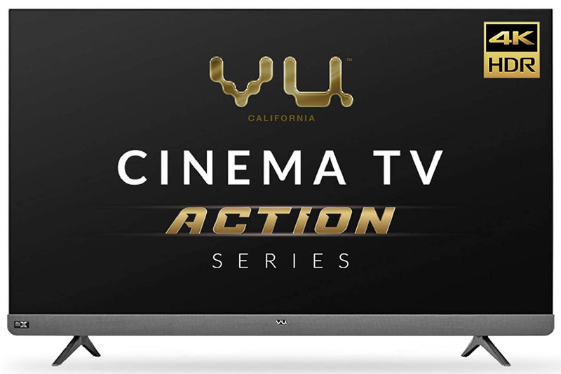 Vu 65LX  (65inches) Cinema TV Action Series 4K Ultra HD LED Smart Android TV I With 100 watt Front Soundbar
