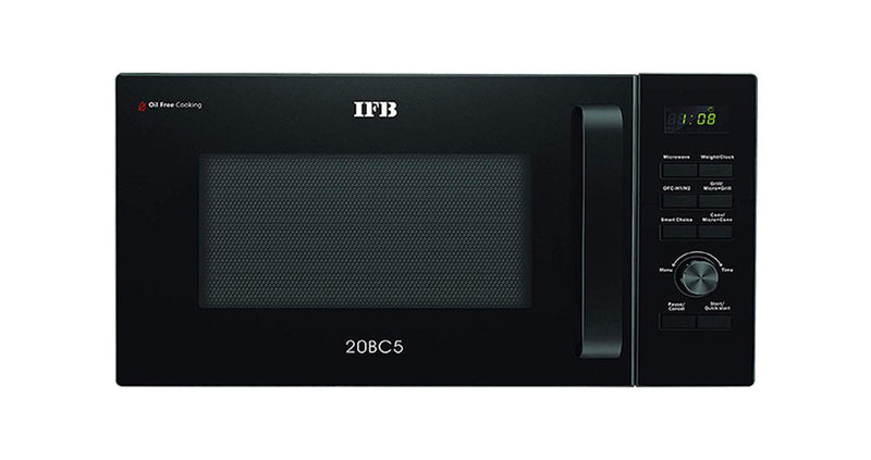 IFB 20 L Convection Microwave Oven (20BC5, Black) - Mahajan Electronics Online