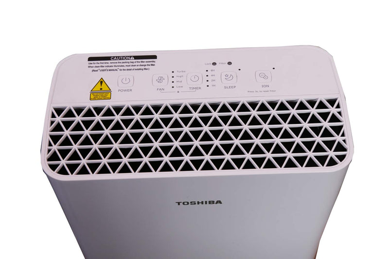 Toshiba CAF-W33XIN Portable Room Air Purifier  (White) - Mahajan Electronics Online