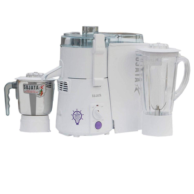 Sujata Powermatic Plus 900 Watts Juicer Mixer Grinder - Mahajan Electronics Online