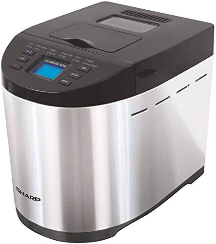 Sharp PE-105CS Table-Top Bread Maker for Home, Kitchen
