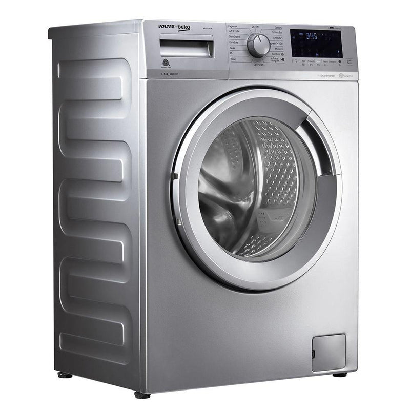 Voltas Beko 6 kg Fully Automatic Front Loading Washing Machine Anthracite (WFL6010VTMS) - Mahajan Electronics Online