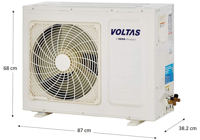 Voltas 24HSZS  Air Conditioner 2 Ton Hot & Cold All Weather Split AC  Fixed Speed