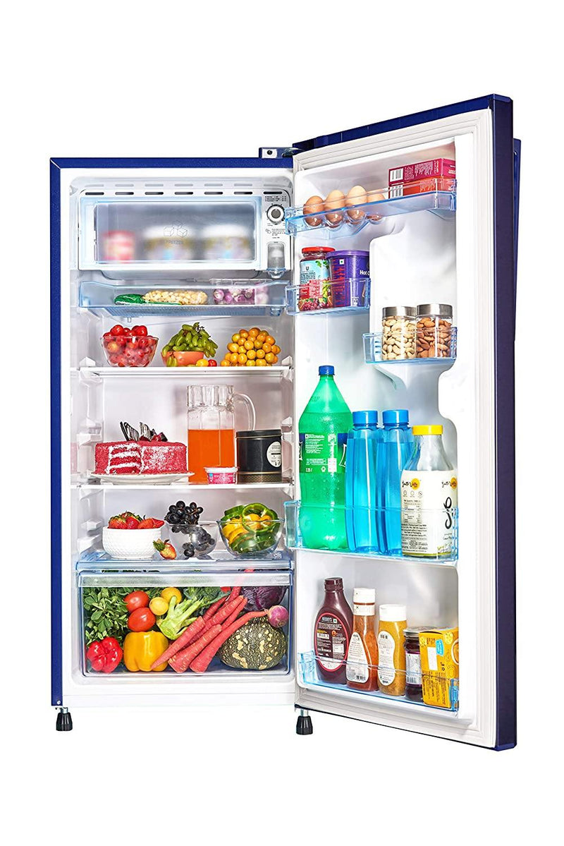 Panasonic 194 L 3 Star Inverter Direct-Cool Single Door Refrigerator (NR-A193VAX1, Blue Hairline) Inverter Compressor - Mahajan Electronics Online