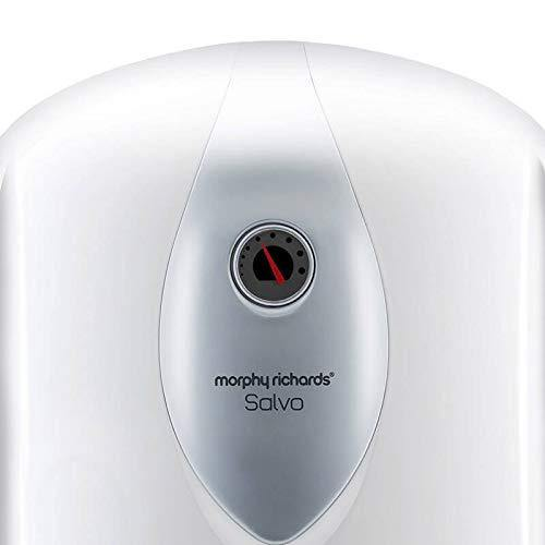 Morphy Richards Salvo Storage 10-Litre Vertical Water Heater, White, 5 Star - Mahajan Electronics Online