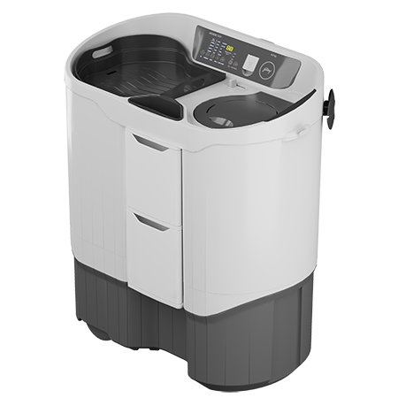 Godrej Edge Digi 8.5 Kg Semi Automatic Washing Machine - WS EDGE DIGI 85 5.0 PB2 M GPGR - Mahajan Electronics Online