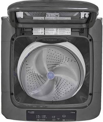Godrej 7.5 kg Fully Automatic Top Load Grey  (WTEon Allure  7.5 PHA  RoGr) With Inbuilt Heater - Mahajan Electronics Online