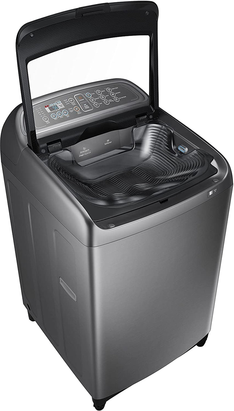 Samsung WA11J5751SP/TL Fully-Automatic Top-Loading Washing Machine (11 Kg, Inox) - Mahajan Electronics Online