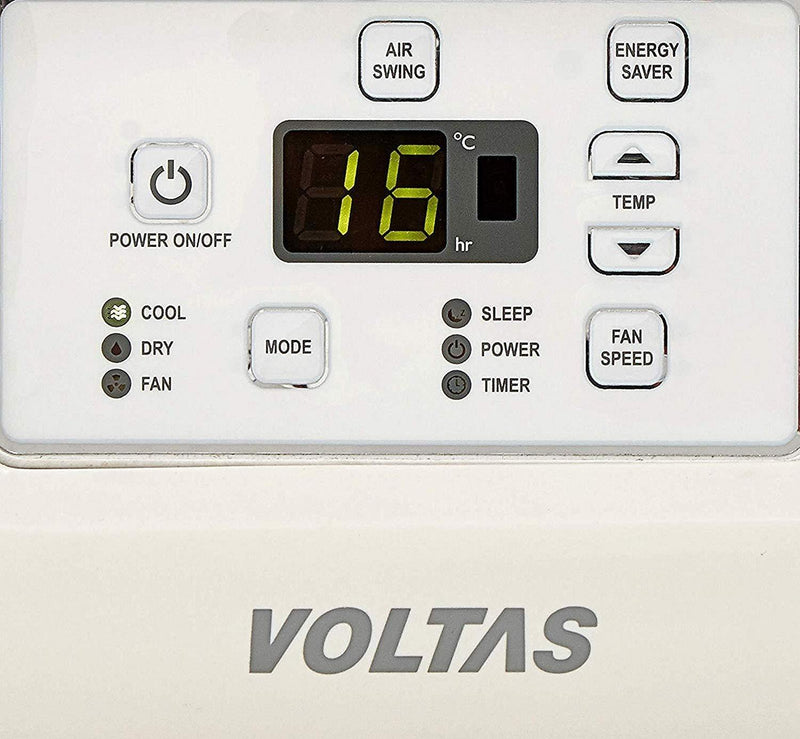Voltas 2 Ton 2 Star Window AC (Copper 242LZH White) - Mahajan Electronics Online
