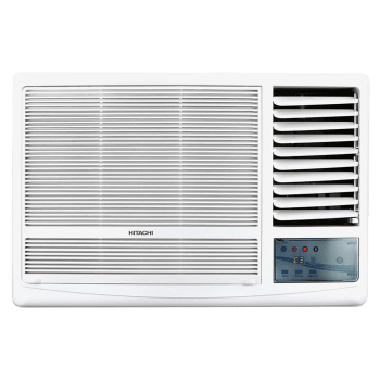 Hitachi Kaze Plus RAW518HEDO 1.5 Ton 5 Star Window AC (Copper Condenser, White)