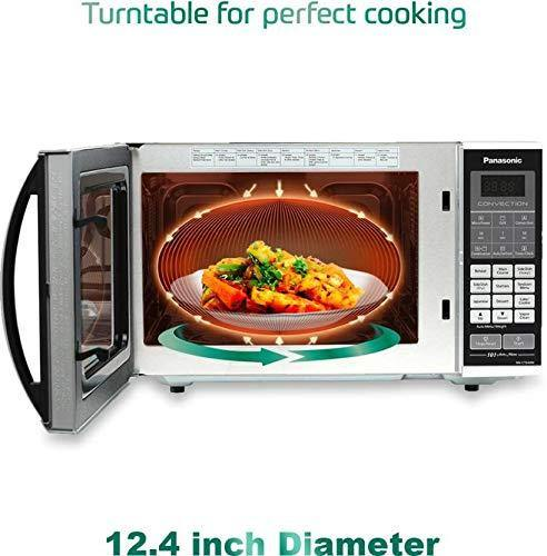 Panasonic 27L Convection Microwave Oven(NN-CT644MFDG,Black, Vapour Clean) with Starter Kit - Mahajan Electronics Online