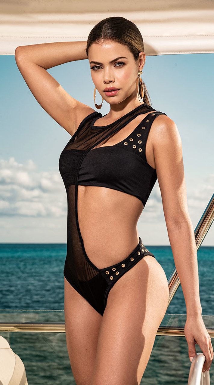 MESH 2 PC SWIMSUIT