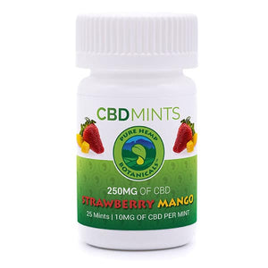 CBD Mints 250 mg - Mango-Strawberry is yummy!