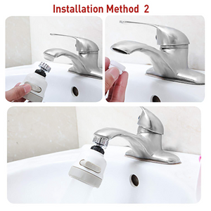 Household 360 Degrees Water Saving Spray Tap Nozzle