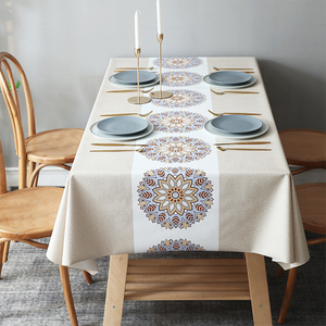 Rectangular Waterproof Oilproof Tablecloth