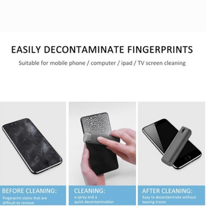 2 In 1 Portable Phone PC Screen Cleaner