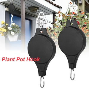 Adjustable Plant Pulley Telescopic Hooks