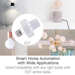 Smart Home Switch Remote Control Lamp Holder