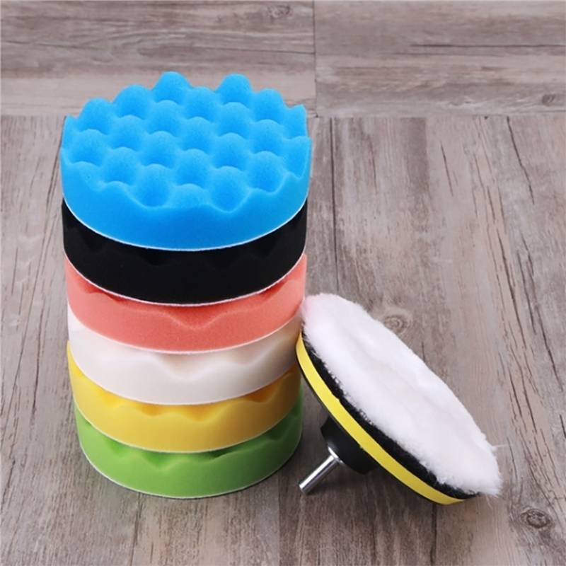 11PCS Car Polishing Disc Sponge Polishing Wheel