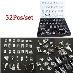 Sewing Machine Foot Presser Feet Set