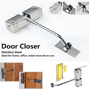 Stainless Steel Automatic Mounted Spring Door Closer