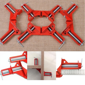 Red 90 Degree Right Angle Corner Clamp