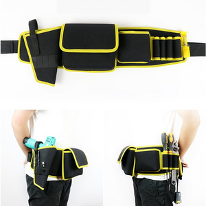 Multi-functional Electrician Tools Bag Waist Pouch Belt