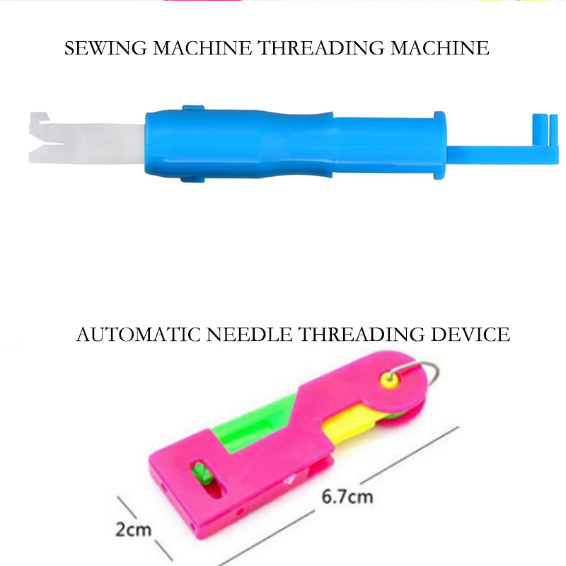 3/6PCS  Automatic Needle Threader Stitch Sewing Machine Thrading