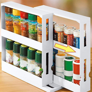 Kitchen Seasoning Spice Organizer Rack