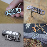 Multifunctional Ratchet Keychain