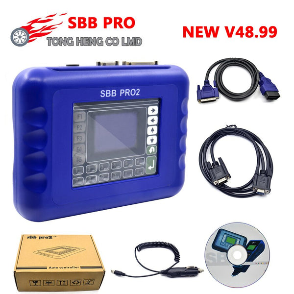 Neu!! SBB PRO2 Key Programmer / Schlüssel Programmierer V48.99 Support Cars Up to 2018,