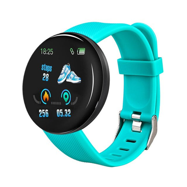 2020 New Bluetooth Fitness Pulsmesser Smartwatch für Android Herren Damen