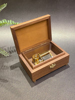 Load image into Gallery viewer, antique wooden music box | music box | designer music box