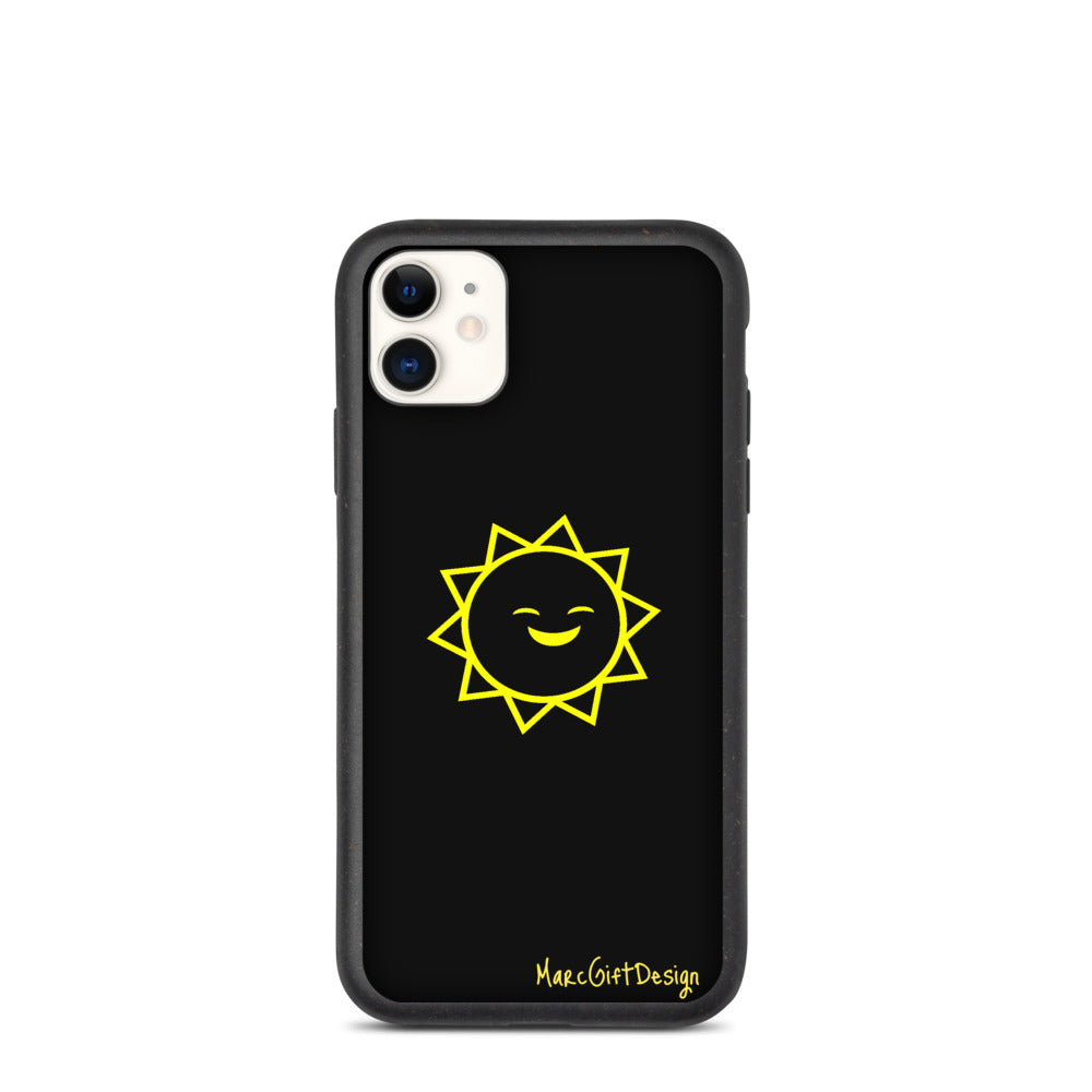 Smiley Sun Printed Phone Case | Designer Mobile Phone Case | Stylish Phone Case