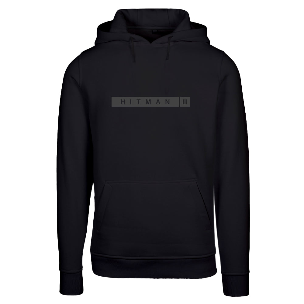 HITMAN 3 Grey with fitted Heavy Hoody