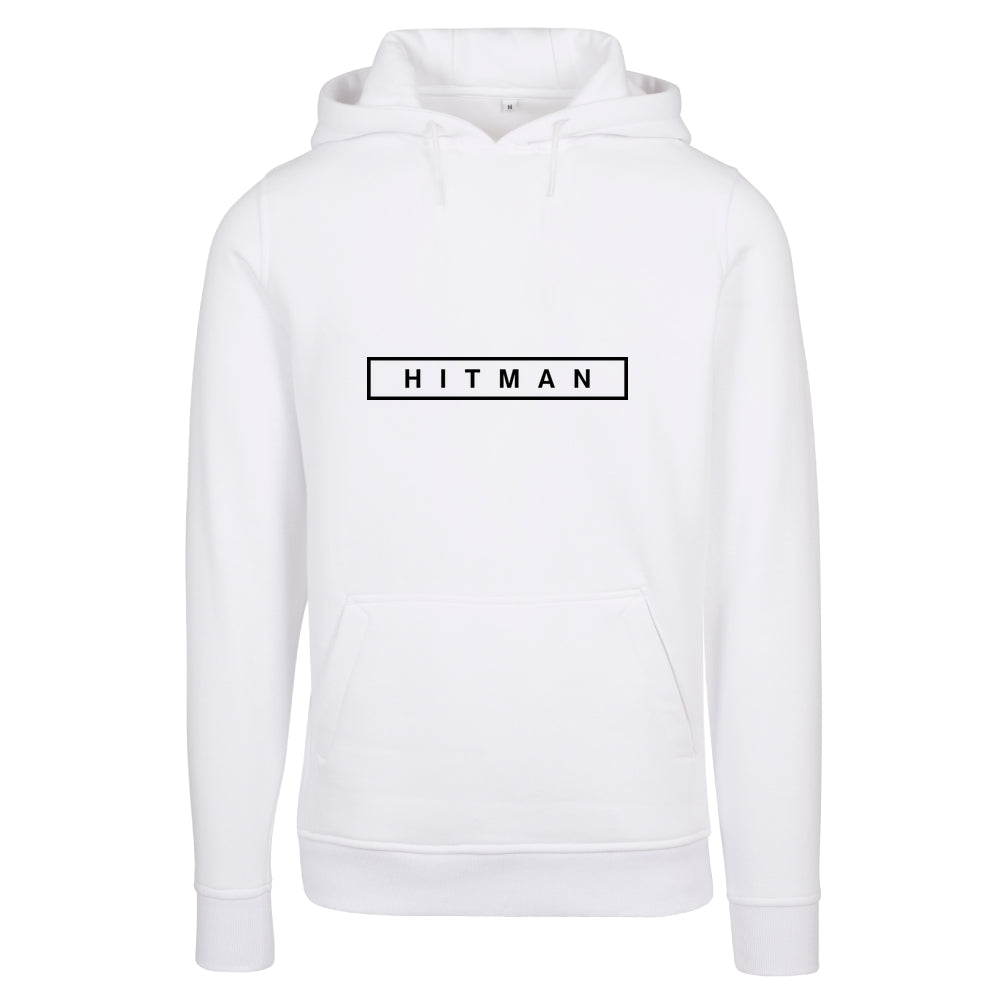 HITMAN Logo with fitted Heavy Hoody