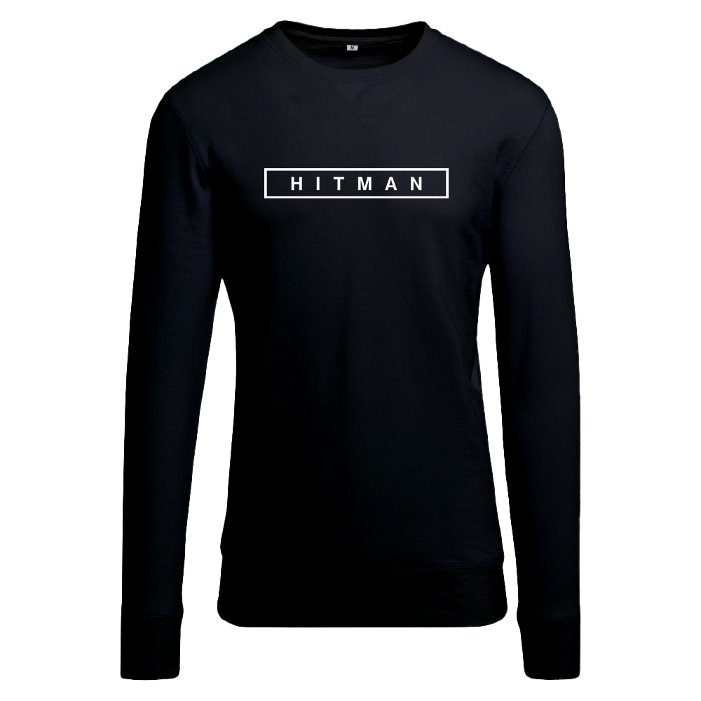 HITMAN Logo White with Light Crew sweatshirt