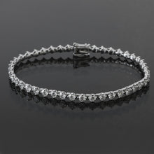 Load image into Gallery viewer, 8 Pointer Tennis Bracelet