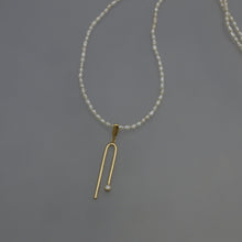 Load image into Gallery viewer, POLARIS Necklace and Single Ear Dangler